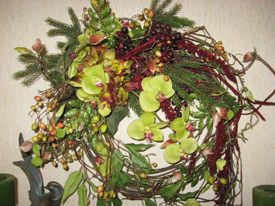 Transition (Fall to Christmas) Wreath